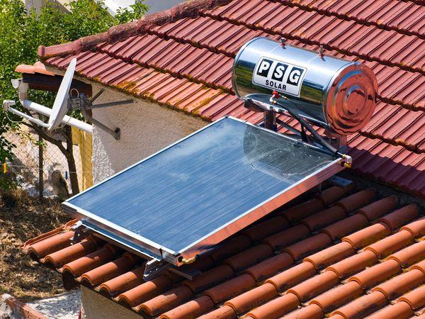 Tipos de calentadores de agua solares